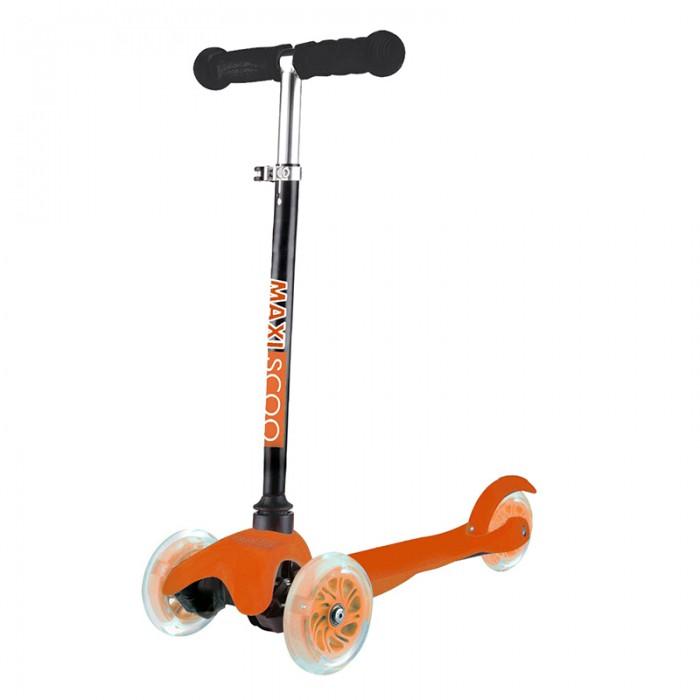 Купить Трехколесные самокаты, Трехколесный самокат Maxiscoo Baby со светящимися колесами
