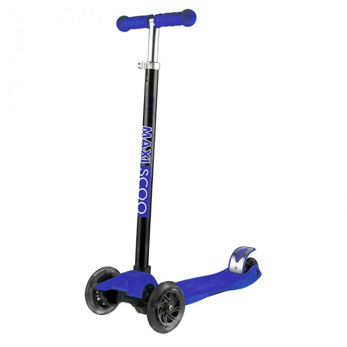 Купить Трехколесные самокаты, Трехколесный самокат Maxiscoo Junior со светящимися колесами