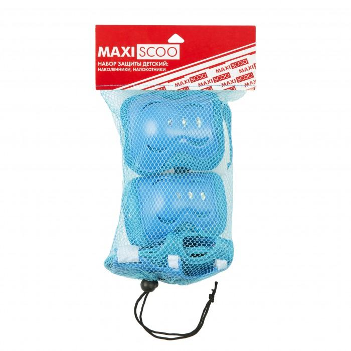 Maxiscoo Набор защиты детский: наколенники, налокотники, защита запястья