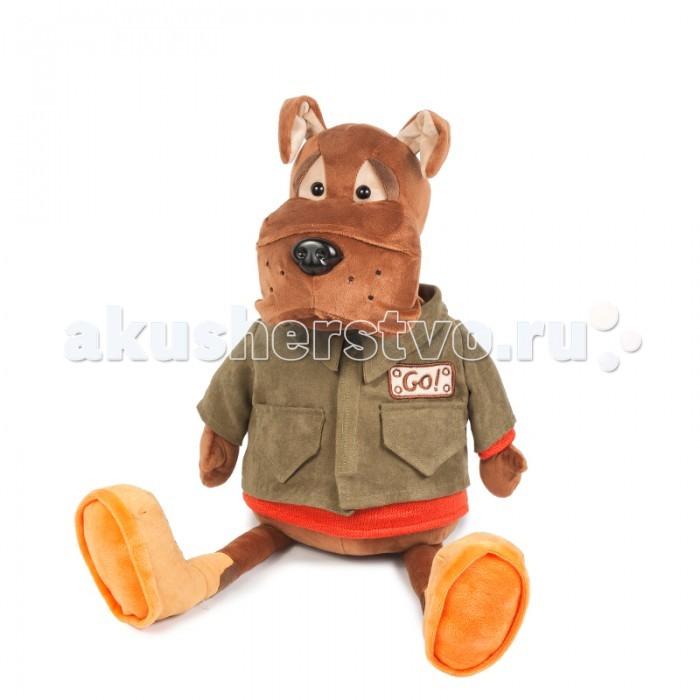 Мягкие игрушки Maxitoys Бульдог Рокки в Куртке