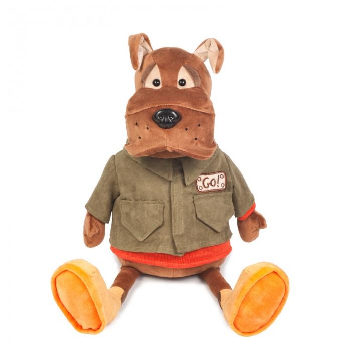 Мягкие игрушки Maxitoys Бульдог Рокки в Куртке мягкие игрушки maxitoys собачка зиночка с зайкой
