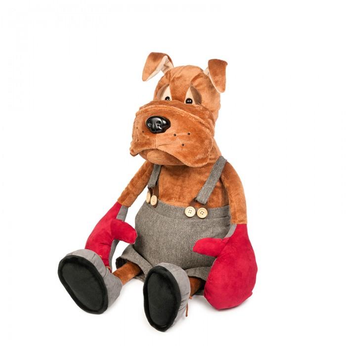 Мягкие игрушки Maxitoys Бульдог Рокки в Перчатках мягкие игрушки maxitoys подушка с ручками