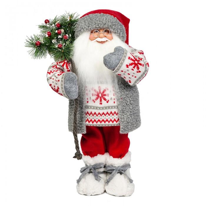 Игровые фигурки Maxitoys Дед Мороз в Свитере со Снежинкой елоччная игрушка дед мороз в