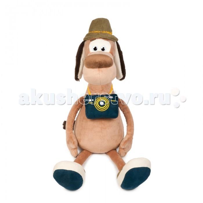 Мягкие игрушки Maxitoys Пес Барбос с Фотоаппаратом а и куприн барбос и жулька
