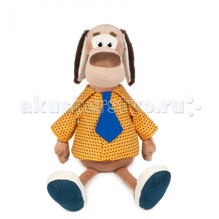 Мягкие игрушки Maxitoys Пес Барбос в Рубашке мягкие игрушки maxitoys собачка зиночка с зайкой