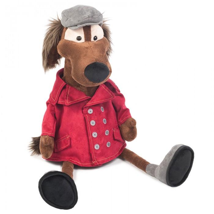 Купить Мягкие игрушки, Мягкая игрушка Maxitoys Пес Шерлок в Куртке