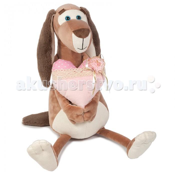 Мягкие игрушки Maxitoys Собачка Наденька с Сердцем мягкие игрушки just play собачка кэнди и ее щенки