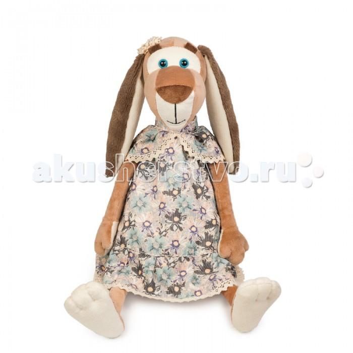 Мягкие игрушки Maxitoys Собачка Наденька в Платье мягкая игрушка собачка мила в платье 23см цвет бежевый