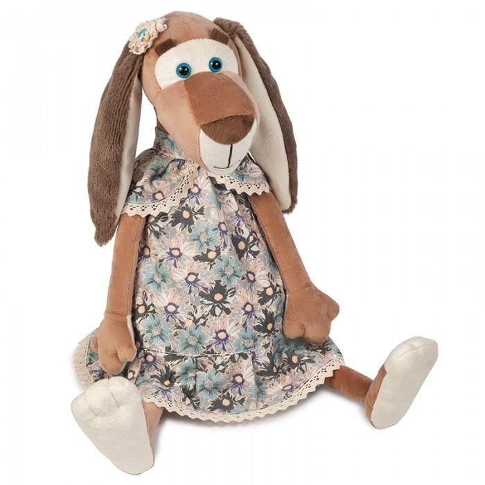 Мягкие игрушки Maxitoys Собачка Наденька в Платье мягкие игрушки maxitoys мягкая игрушка подушка биг фут