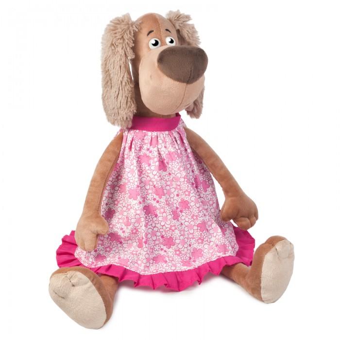 Мягкие игрушки Maxitoys Собачка Зиночка в Платье мягкие игрушки just play собачка кэнди и ее щенки