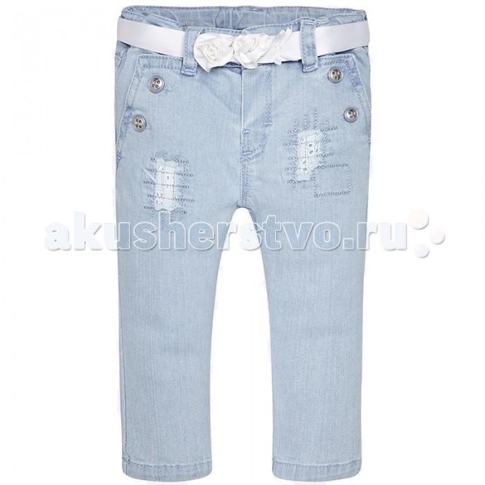 Брюки, джинсы и штанишки Mayoral Джинсы для девочки 1526