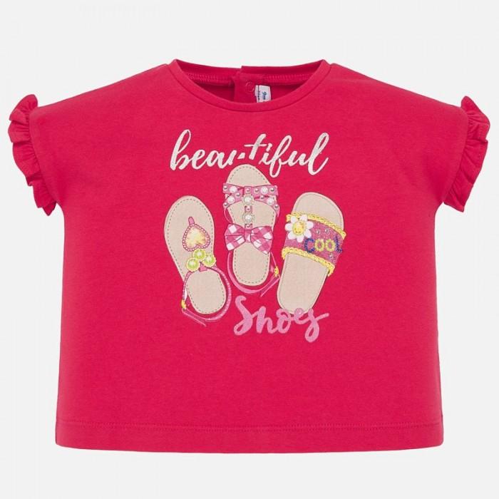 Футболки и топы Mayoral Футболка для девочки Shoes 1064