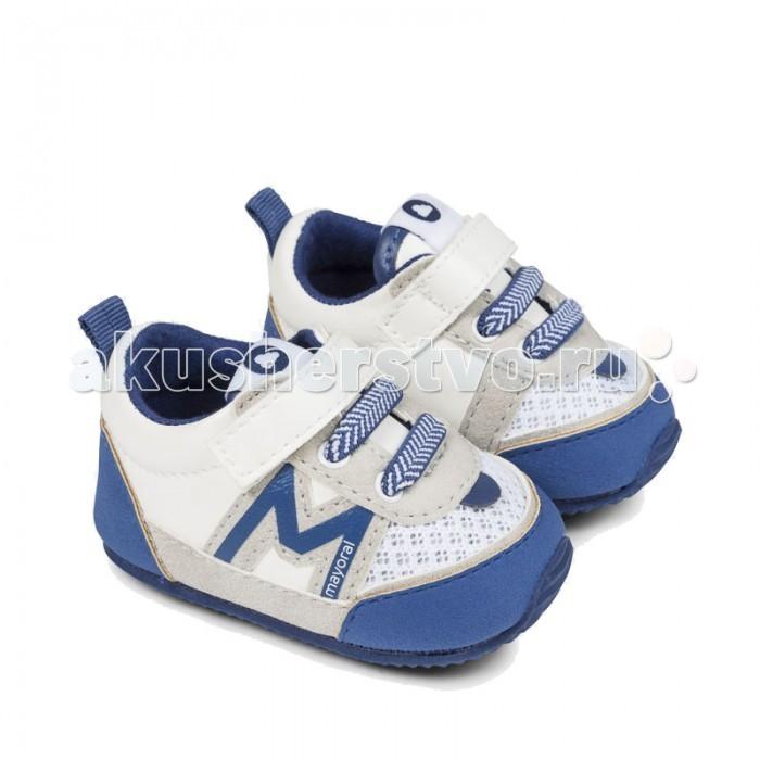 Обувь и пинетки Mayoral Кеды для мальчика 9751 mayoral пальто