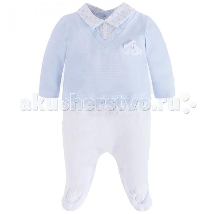 Детская одежда , Комбинезоны и полукомбинезоны Mayoral Комбинезон для мальчика 1618 арт: 444224 -  Комбинезоны и полукомбинезоны