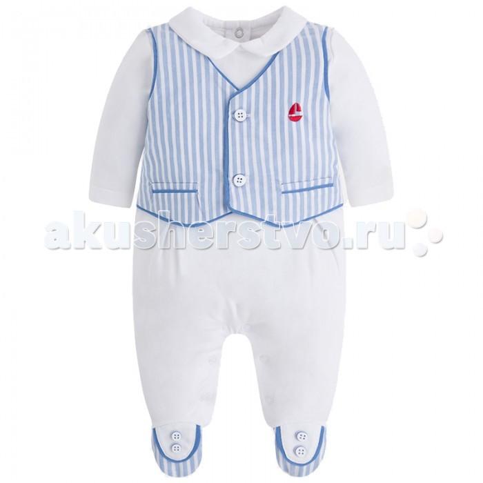 Детская одежда , Комбинезоны и полукомбинезоны Mayoral Комбинезон для мальчика 1620 арт: 444234 -  Комбинезоны и полукомбинезоны