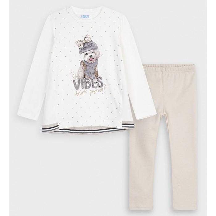 Комплекты детской одежды Mayoral Комплект для девочки 4731 комбинезон утепленный для девочки molo polaris цвет фиолетовый 5w18n202 4731 размер 98
