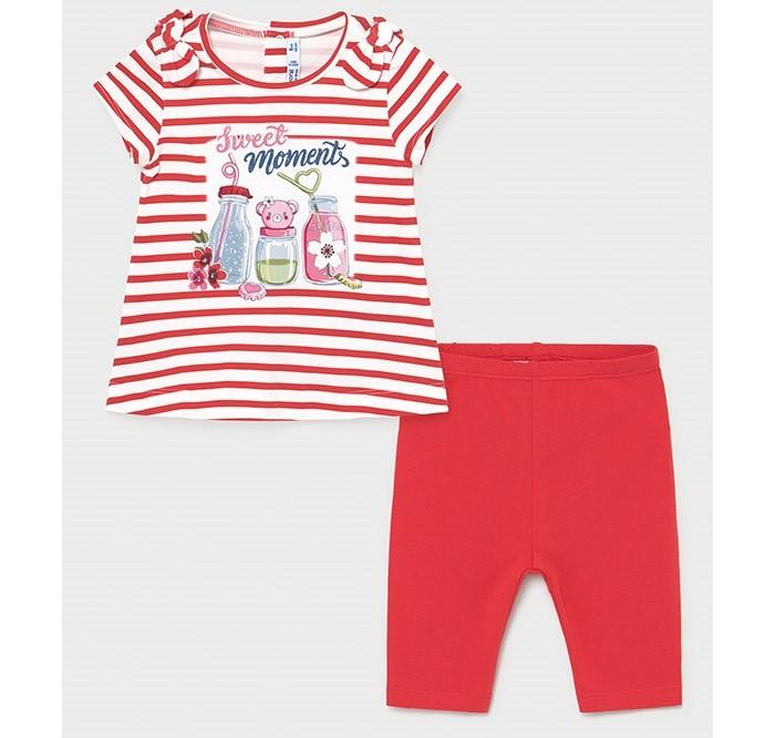 Фото - Комплекты детской одежды Mayoral Комплект для девочки (фуфайка, леггинсы) 1712 комплекты детской одежды mayoral newborn ползунки и фуфайка 1560
