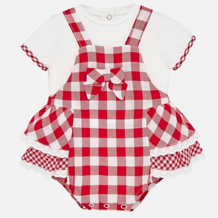 Картинка для Mayoral Комплект для девочки (комбинезон и футболка) New Born 1649