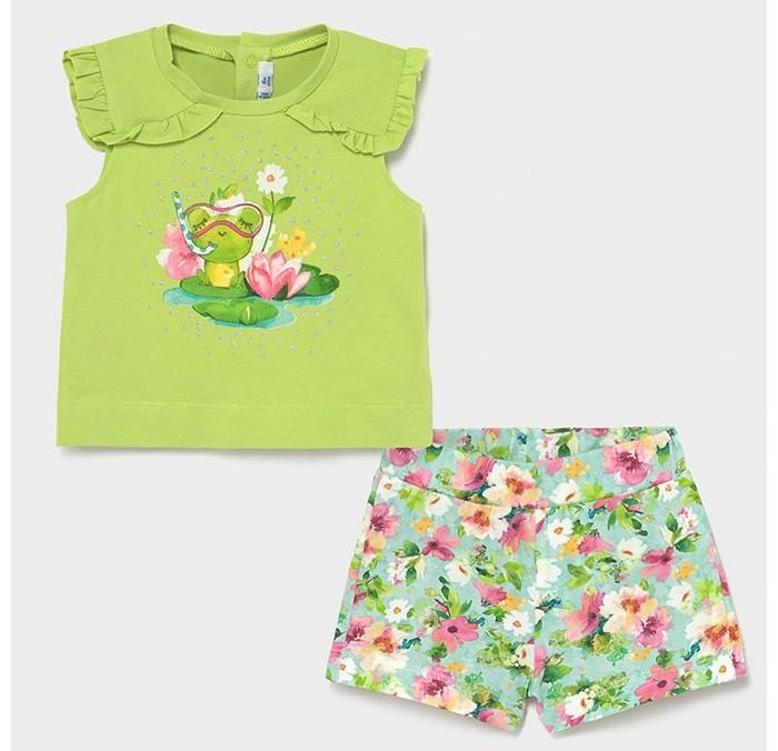Комплекты детской одежды Mayoral Комплект для девочки (майка, шорты,) 1230