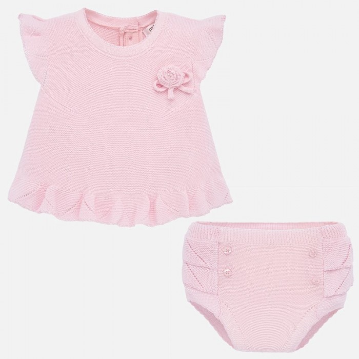 Картинка для Mayoral Комплект для девочки (шорты и футболка) New Born 1255
