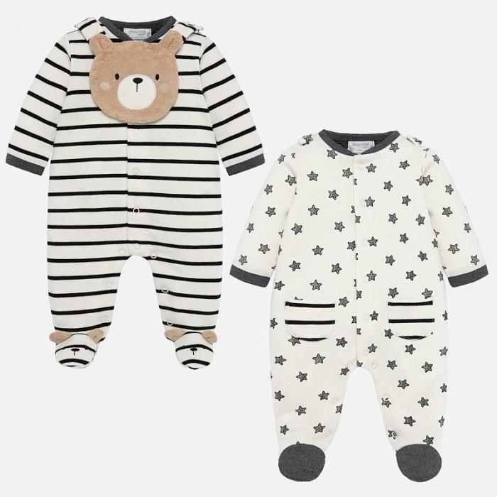 Mayoral Комплект для мальчика (2 пижамы и нагрудный фартук) New Born 2726 фото