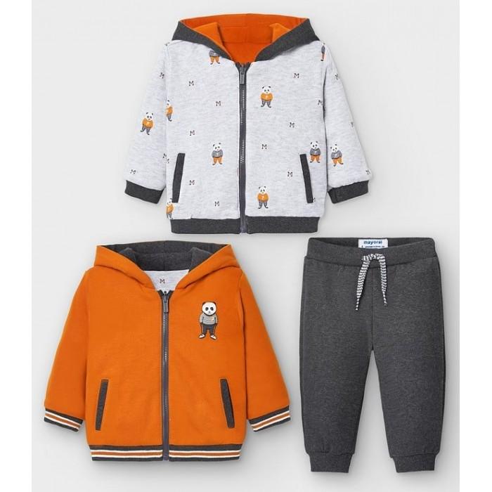 Комплекты детской одежды Mayoral Комплект для мальчика: Двусторонняя куртка и брюки