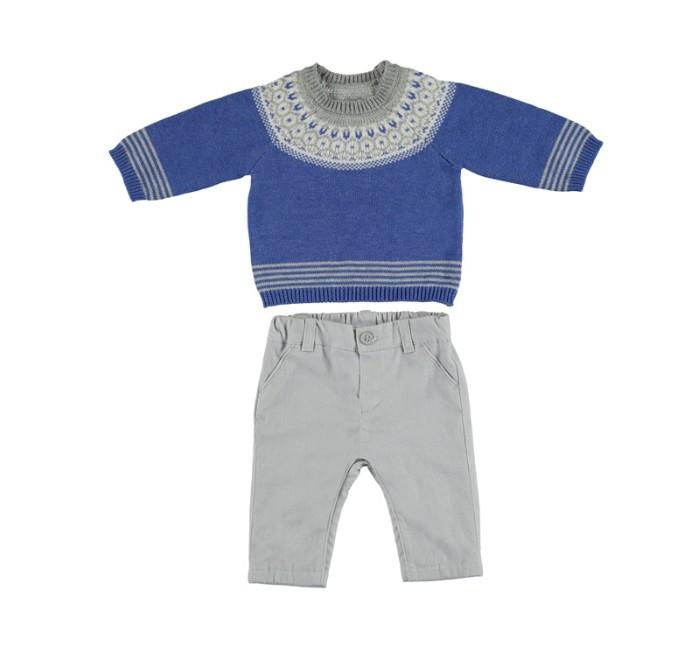 Картинка для Mayoral Комплект для мальчика (джемпер и брюки) New Born 2525
