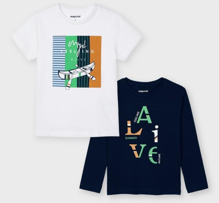 Картинка для Mayoral Комплект для мальчика (фуфайка, футболка) 3055