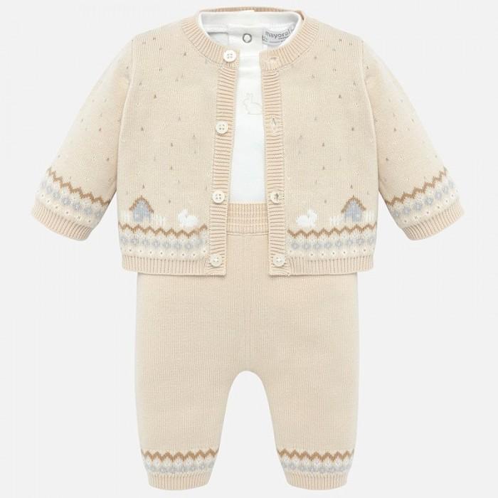 Mayoral Комплект для мальчика (фуфайка и брюки) New Born 2511