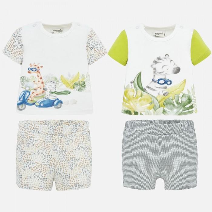 Mayoral Комплект для мальчика (футболка и шорты) New Born 2 шт. 1670 фото