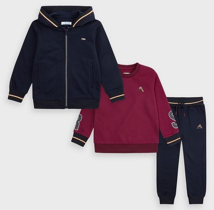 Mayoral Комплект для мальчика: куртка, джемпер и брюки 4819