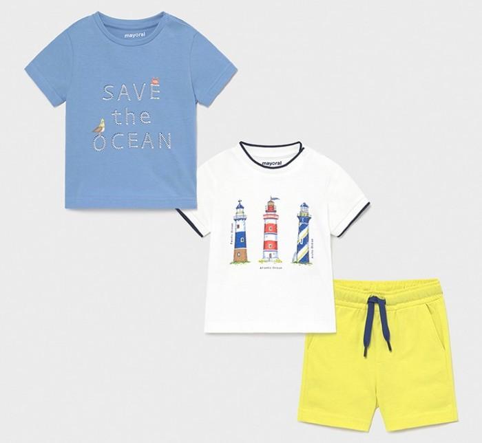Комплекты детской одежды Mayoral Комплект для мальчика (шорты, футболка 2 шт.) 1670
