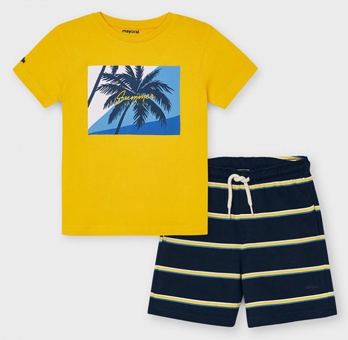 Mayoral Комплект для мальчика (шорты, футболка) 3642