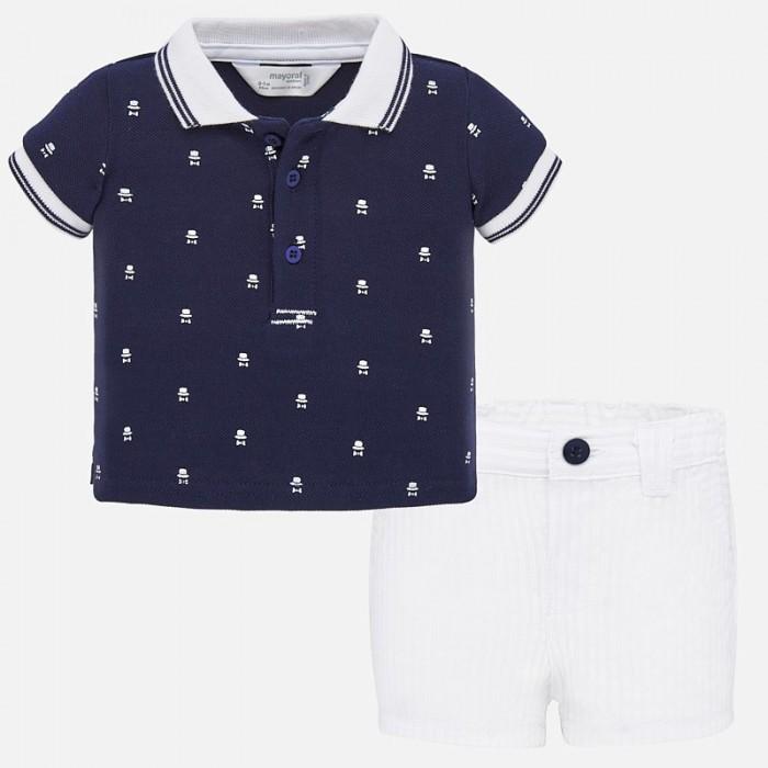 Mayoral Комплект для мальчика (шорты и поло) New Born 1270 фото