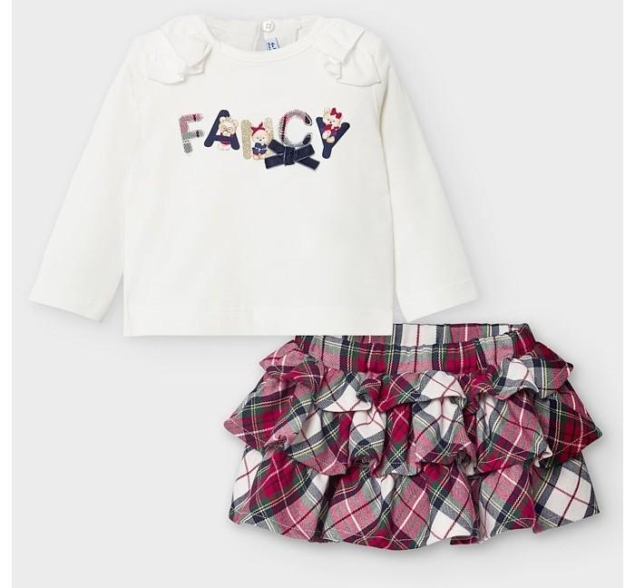 Mayoral Newborn Комплект: юбка и топ 2859