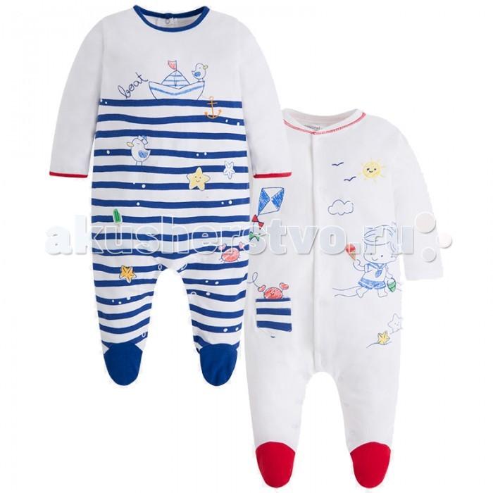 Детская одежда , Комбинезоны и полукомбинезоны Mayoral Комплект комбинезонов 1758 арт: 444334 -  Комбинезоны и полукомбинезоны