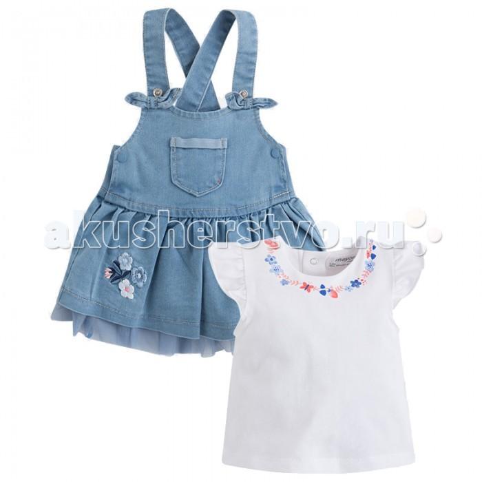 Комплекты детской одежды Mayoral Комплект одежды для девочки 1872 mayoral платье для девочки mayoral