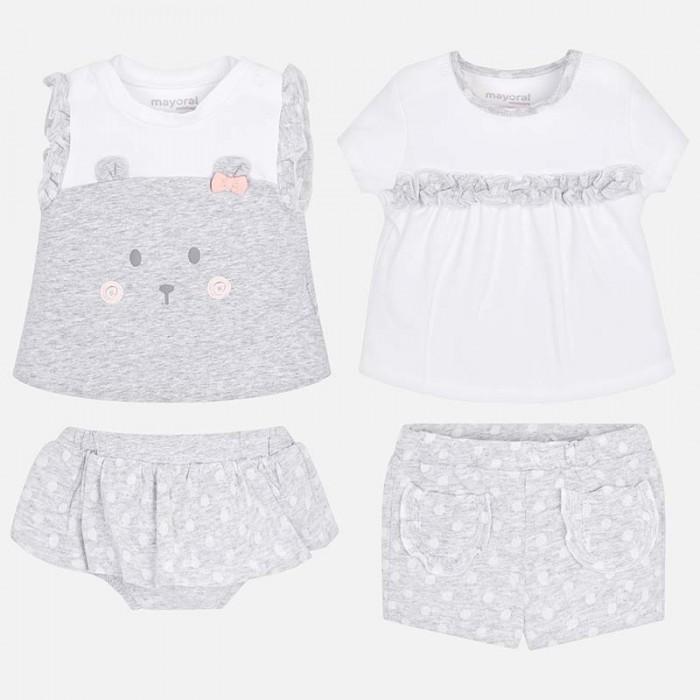 Картинка для Mayoral Комплект одежды для девочки 2 футболки 2 шорт 1605