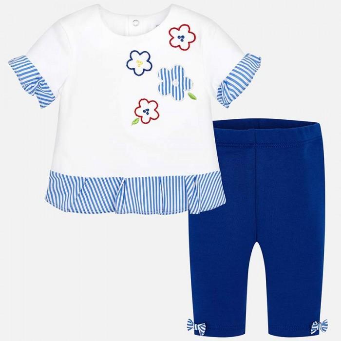 Mayoral Комплект одежды для девочки фуфайка и легинсы 1735