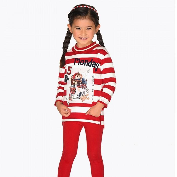 Mayoral Комплект одежды для девочки (фуфайка и легинсы) 4713 фото