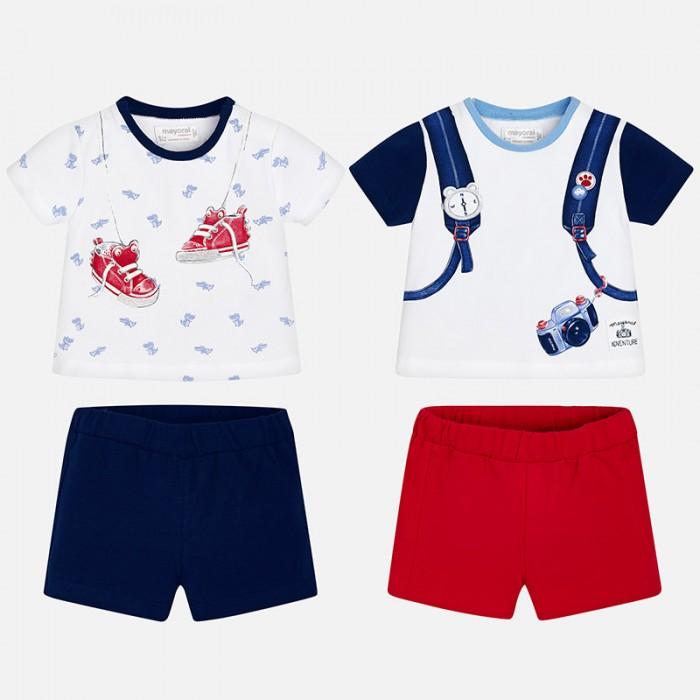 Mayoral Комплект одежды для мальчика 2 футболки и 2 шорт 1626