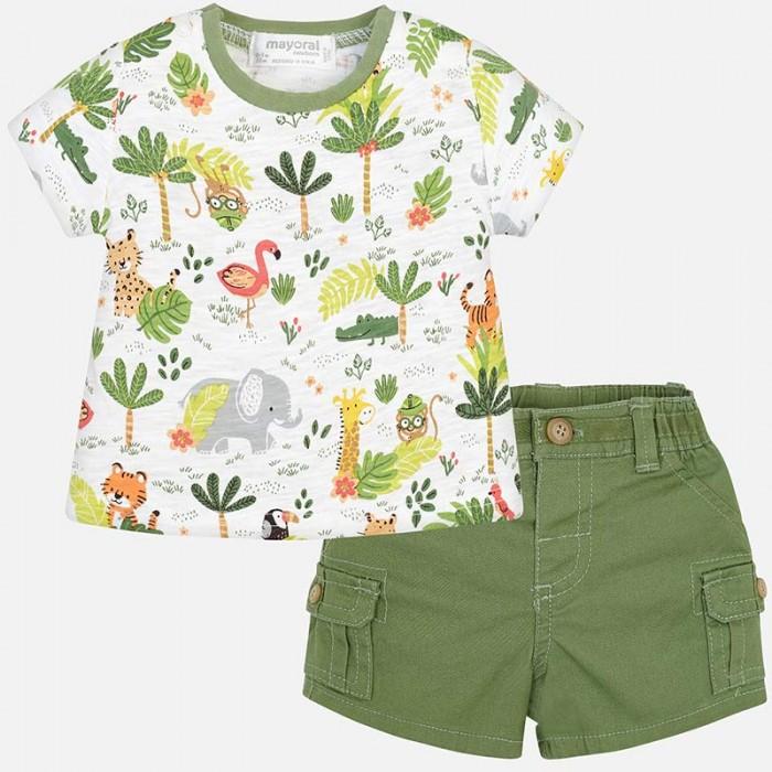 Mayoral Комплект одежды для мальчика бриджи и фуфайка 1221 фото