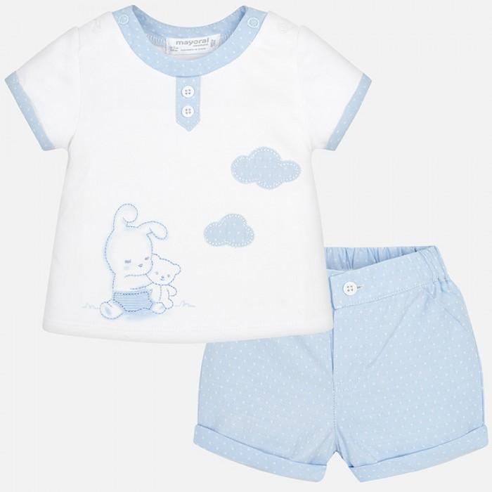 Mayoral Комплект одежды для мальчика футболка и бриджи 1202 фото
