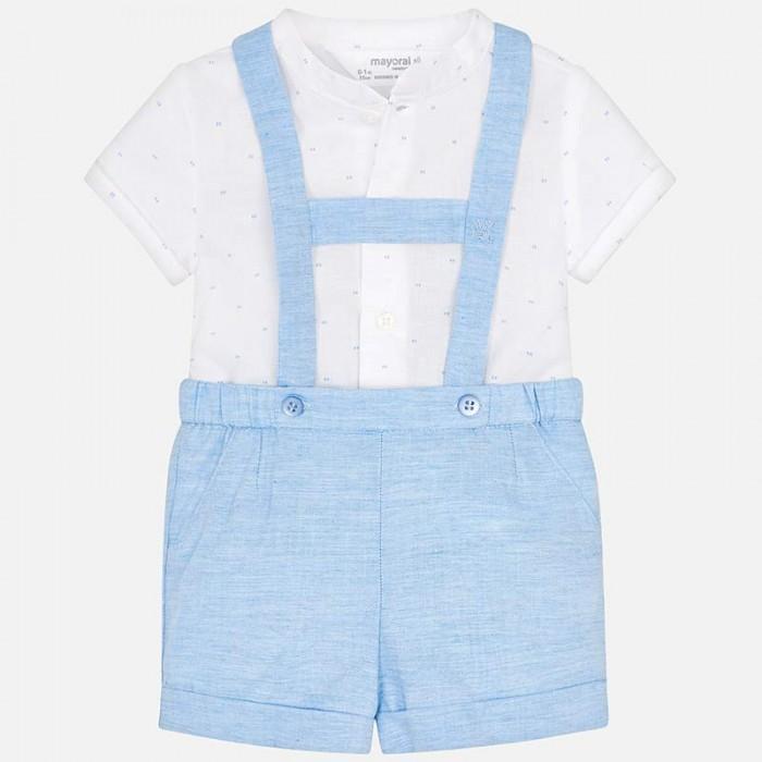 Mayoral Комплект одежды для мальчика комбинезон и фуфайка 1208 фото