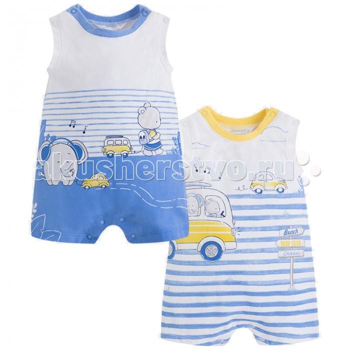 Боди и песочники Mayoral Комплект песочников для мальчика 1660 одежда для детей