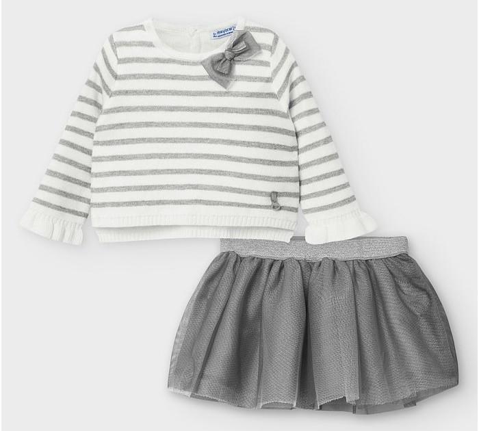 Картинка для Mayoral Комплект: Пуловер и юбка 2974