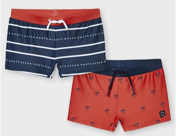 Плавки Mayoral Купальные шорты для мальчика 2 пары 3647 плавки pelican шорты купальные для мальчика bwhe3216