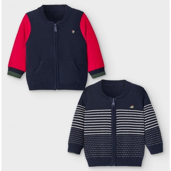 Джемперы и кардиганы Mayoral Куртка двусторонняя для мальчика 2356