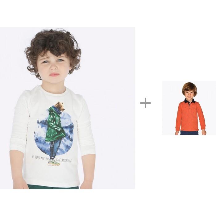 Mayoral Лонгслив 4033 и рубашка-поло 4108 для мальчика от Mayoral