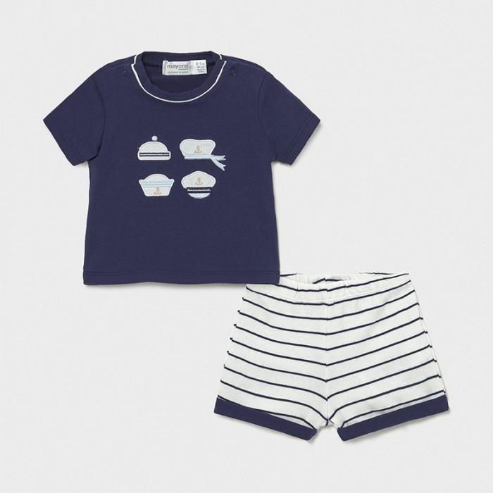 Фото - Комплекты детской одежды Mayoral Newborn Фуфайка и шорты для мальчика 1204 комплекты детской одежды mayoral newborn ползунки и фуфайка 1560